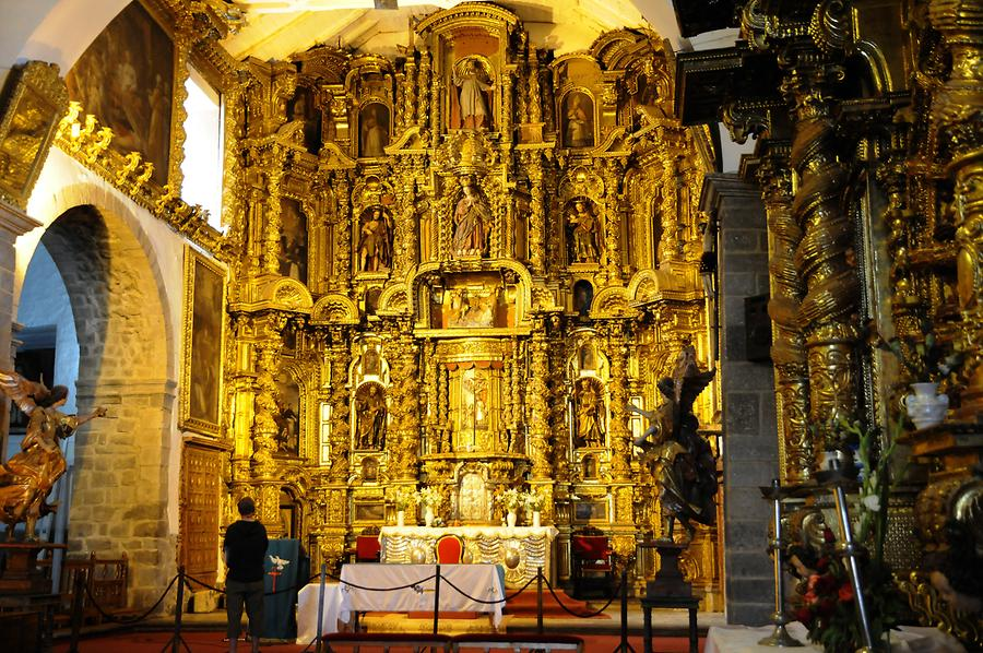 Church of San Blas - Inside