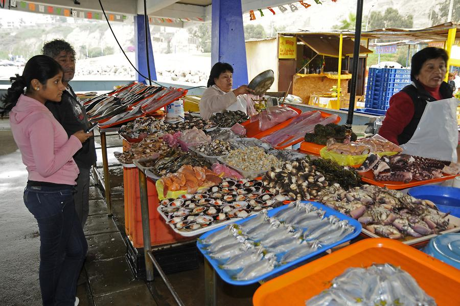 Chorillos District - Fish Market