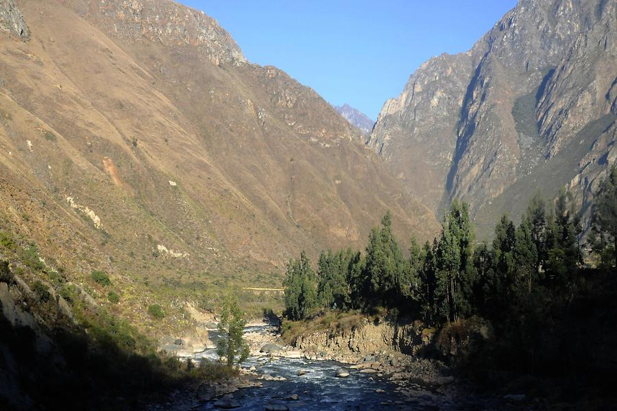 Urubamba Valley near Aguas Calientes
