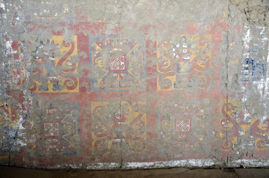 Moche - Temple of the Moon; Reliefs