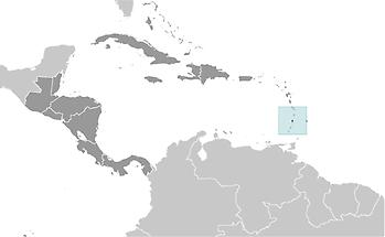Saint Vincent and the Grenadines in Central America and Caribbean
