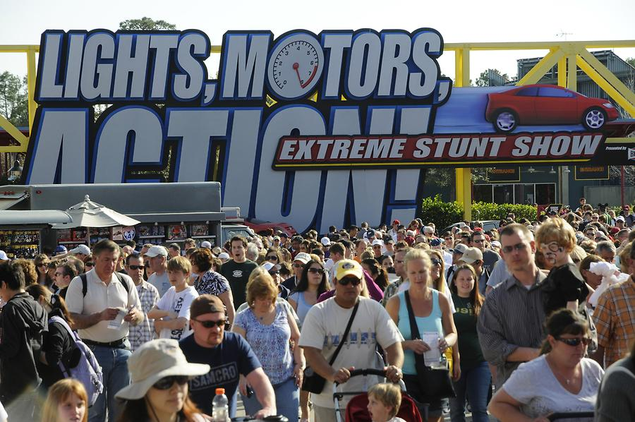 Disney's Hollywood Studios - Lights, Motors, Action! Extreme Stunt Show