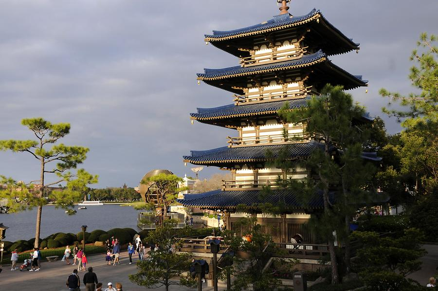 Epcot - World Showcase; Japan
