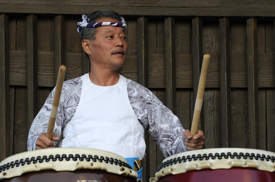 Epcot - World Showcase; Japan, Ddrummer