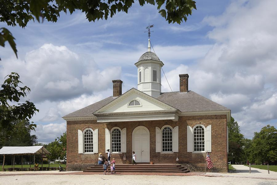 Colonial Williamsburg - Courthouse