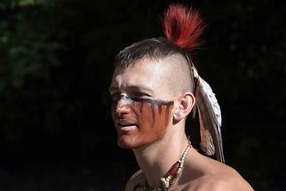 Jamestown Settlement - Indian Town (4)
