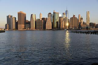 Lower Manhattan at Sunrise