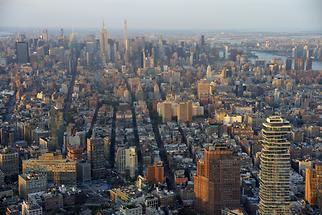 Manhattan - Birdseye View