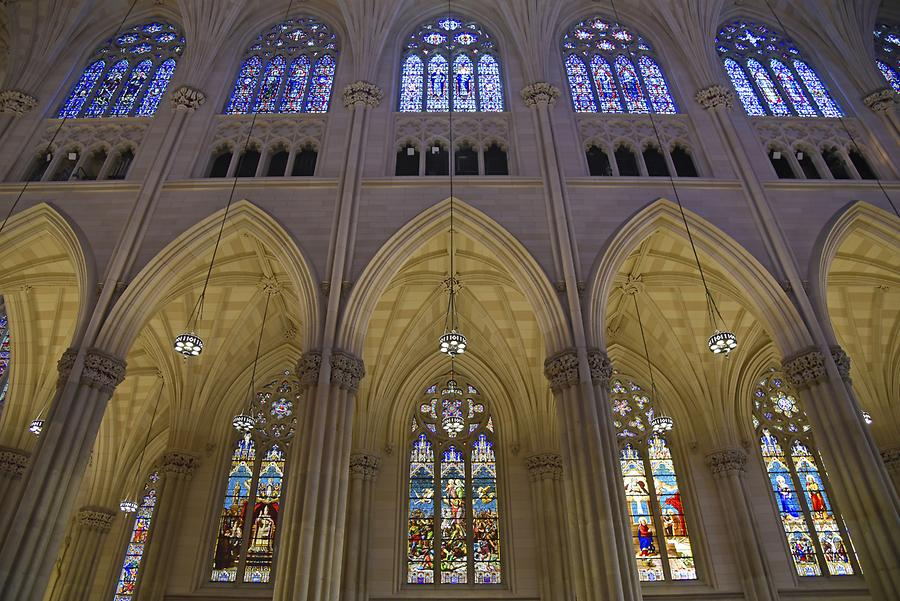 Fifth Avenue - St. Patrick's Cathedral; Nave