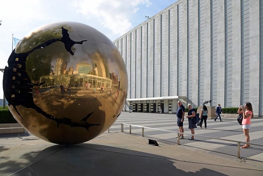 Headquarters of the United Nations - 'Sphere within Sphere'