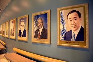 Headquarters of the United Nations - UN Secretary-Generals