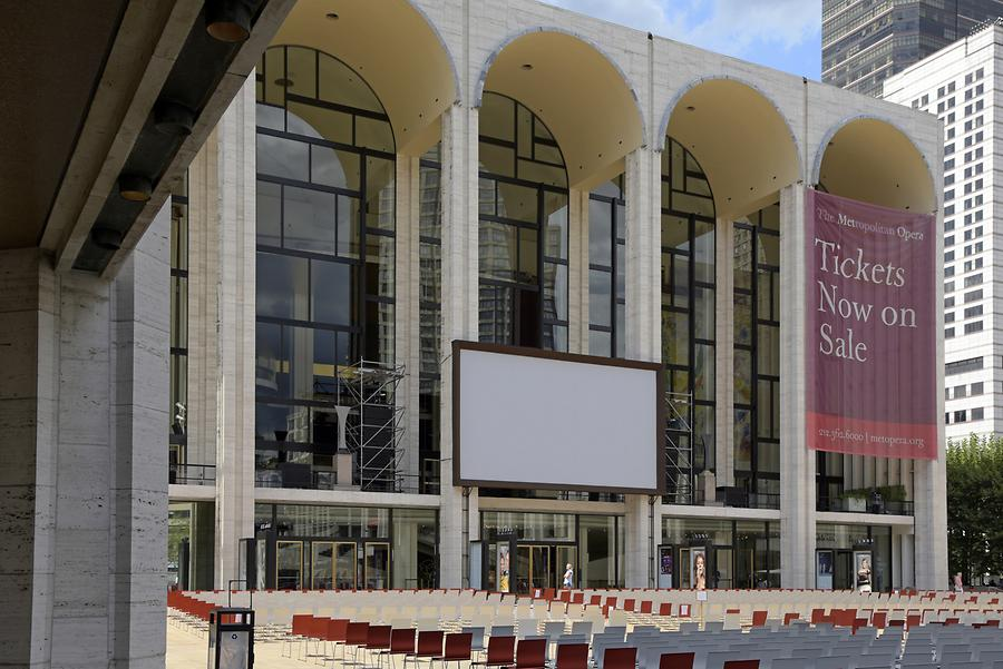 Lincoln Center for the Performing Arts - Metropolitan Opera House