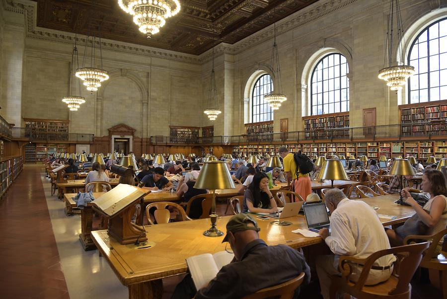 New York Public Library - Reading Room