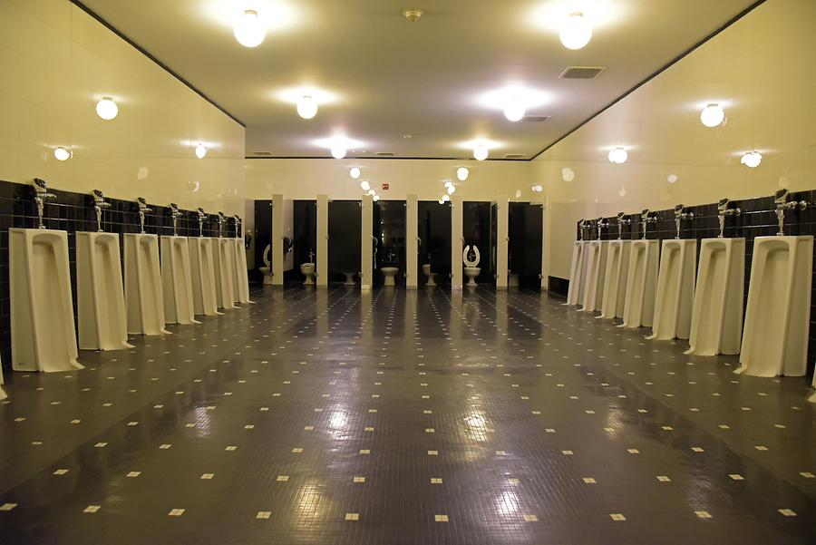 Rockefeller Center - Radio City Music Hall; Men's Toilet