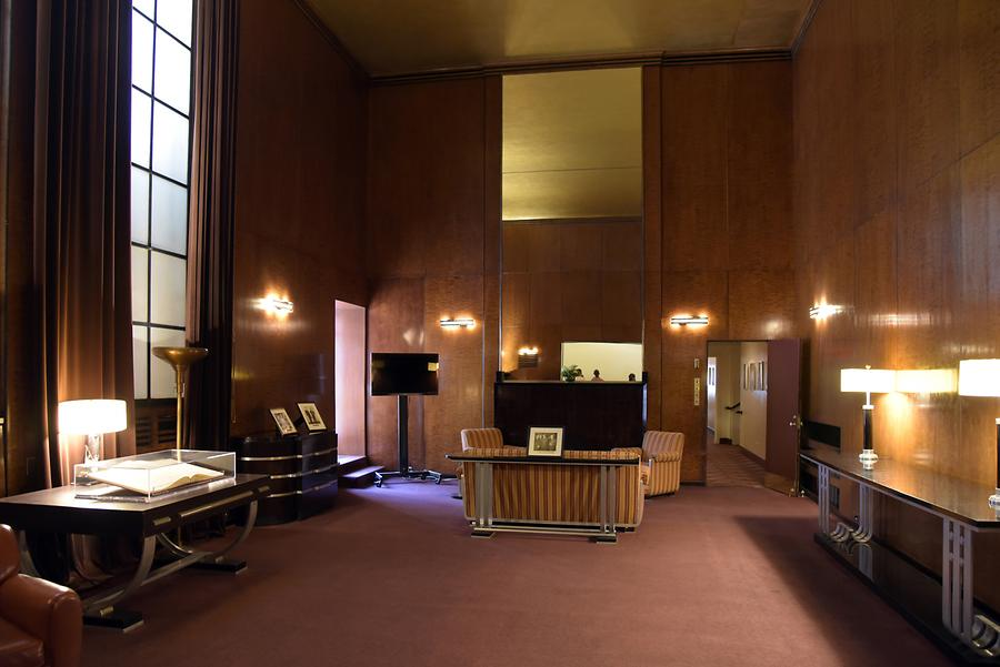Rockefeller Center - Radio City Music Hall; VIP Room