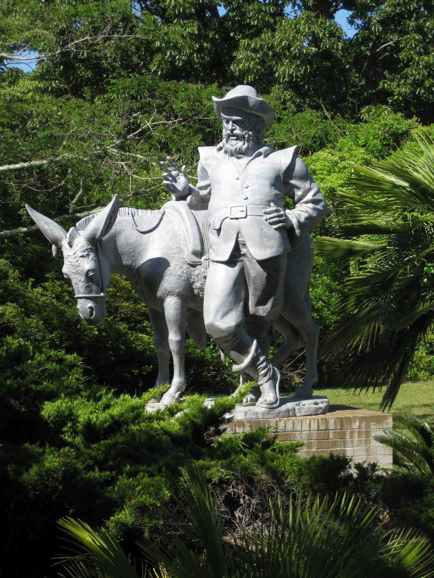 Pawleys Island Brookgreen Gardens Sancho Panza Von Carl Paul Jennewein