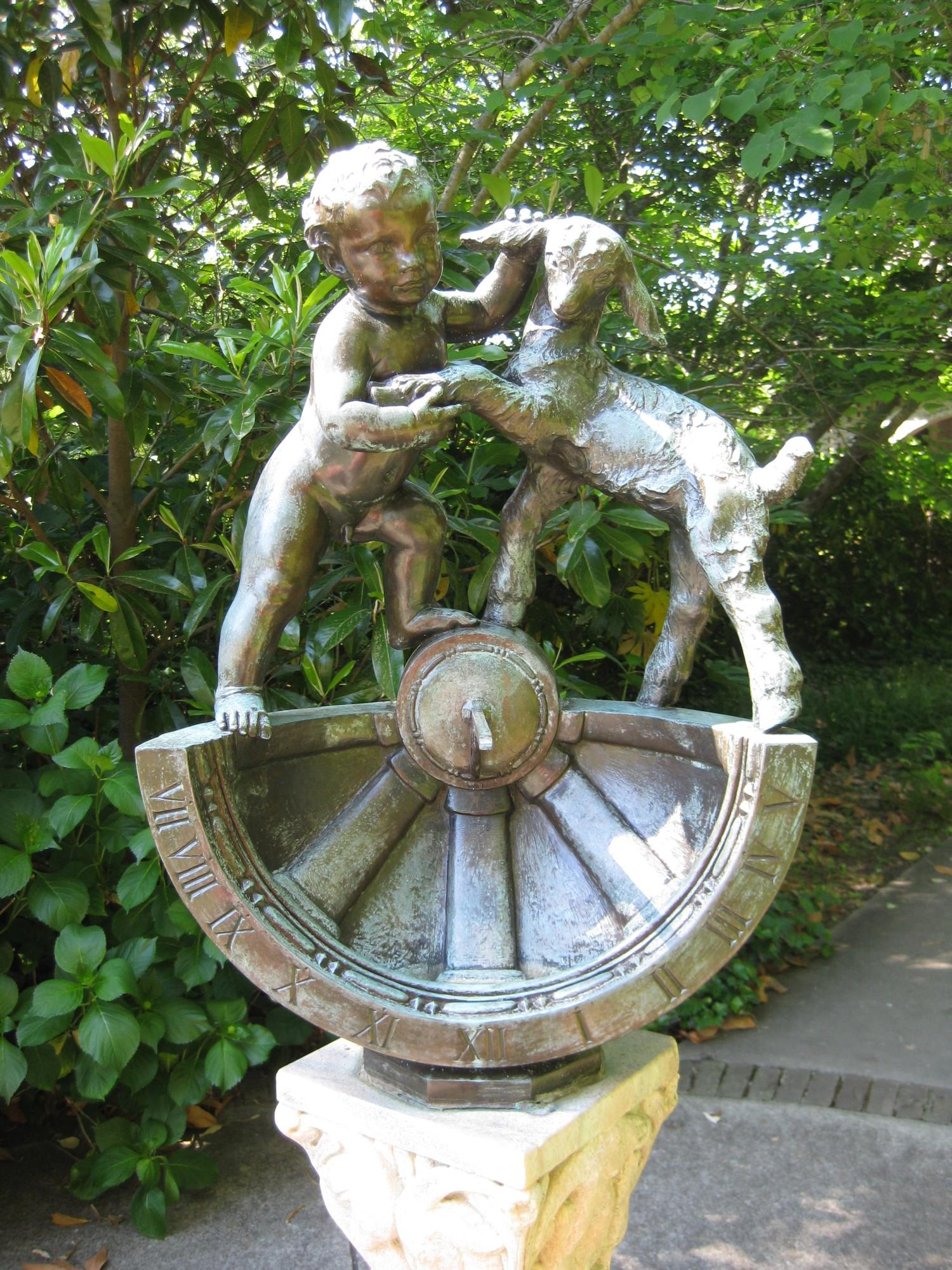 Pawleys Island Brookgreen Gardens Sundial Von Brenda Putnam