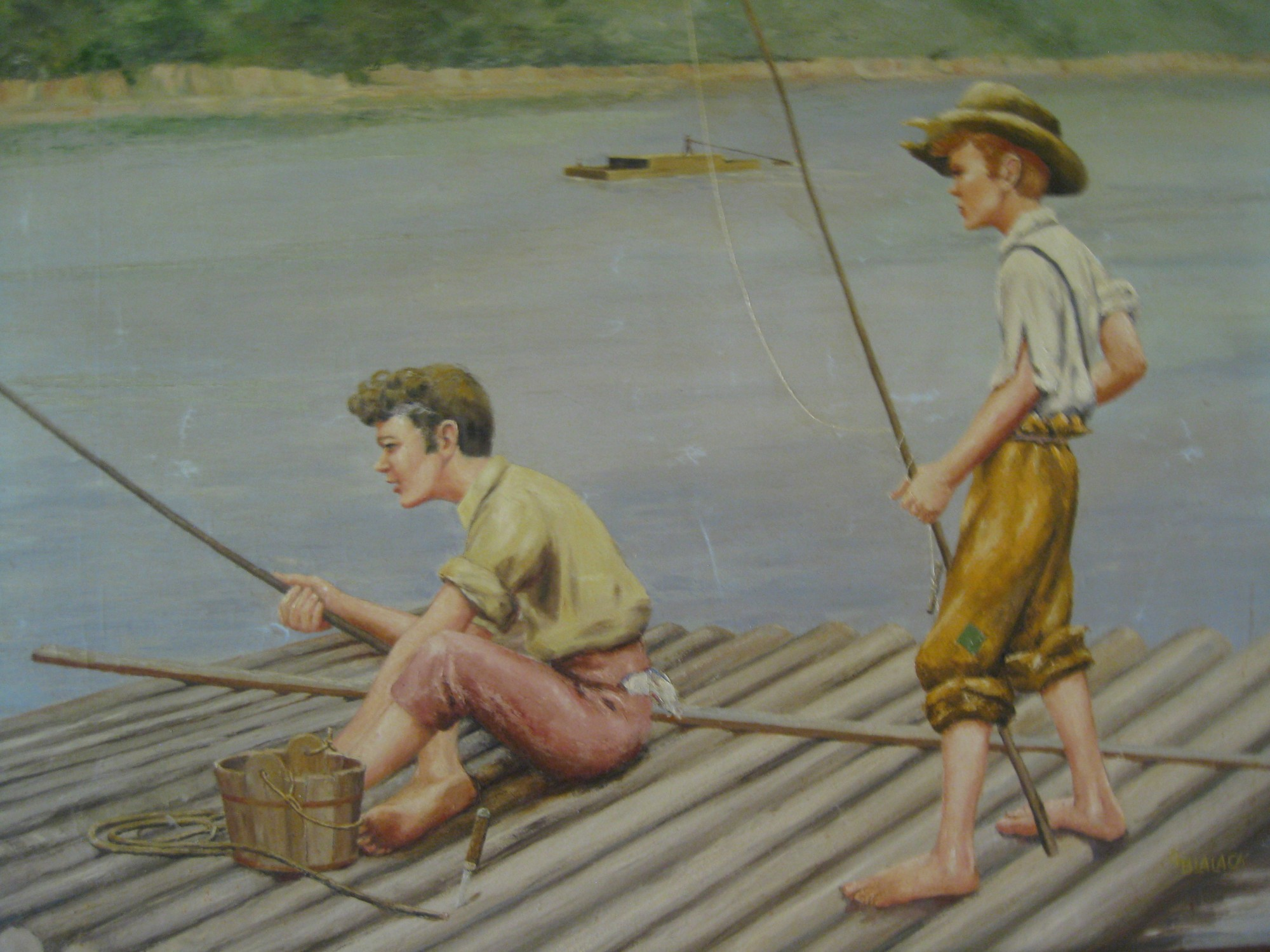 memphis mud island mississippi river museum tom sawyer and