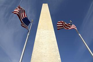 Washington Monument - Stars and Stripes