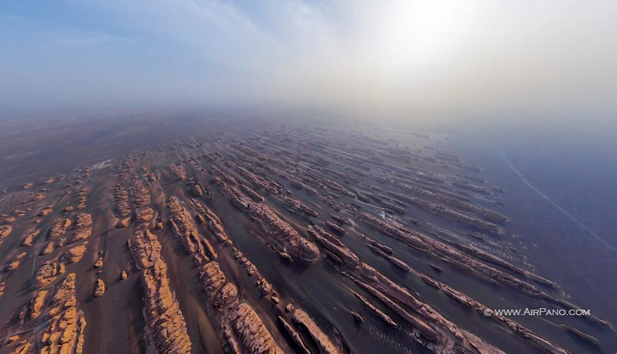 Dunhuang Yardang National Geopark, China, © AirPano