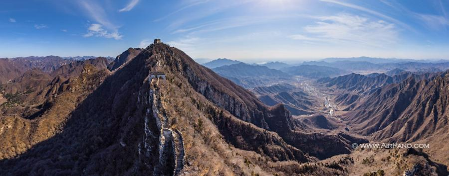 Great Wall of China. Jiankou Spot, © AirPano