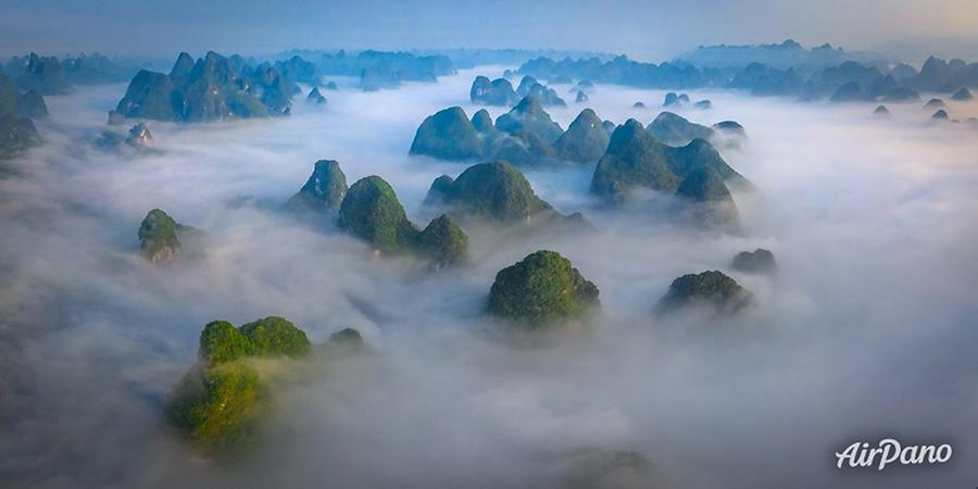Guilin Mountains, China, © AirPano