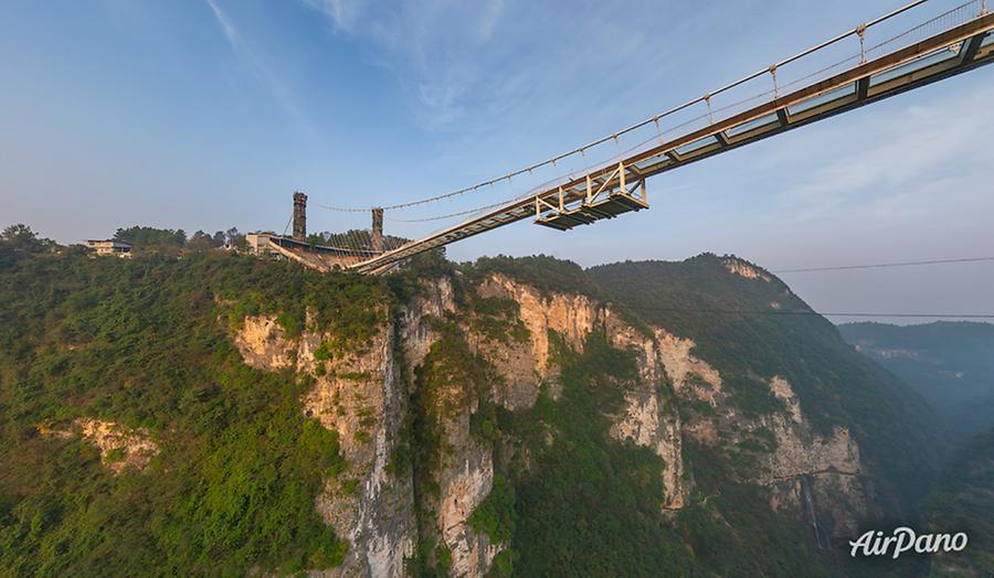 Zhangjiajie Glass Bridge, China, © AirPano