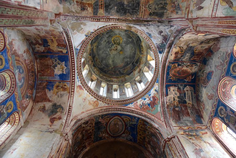 Gelati Monastery - Church of Virgin the Blessed; Frescos