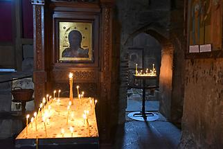 Mtskheta - Jvari Monastery; Church, Icon of the Virgin Mary