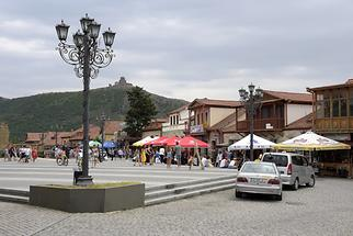 Mtskheta - Main Square and Jvari Monastery