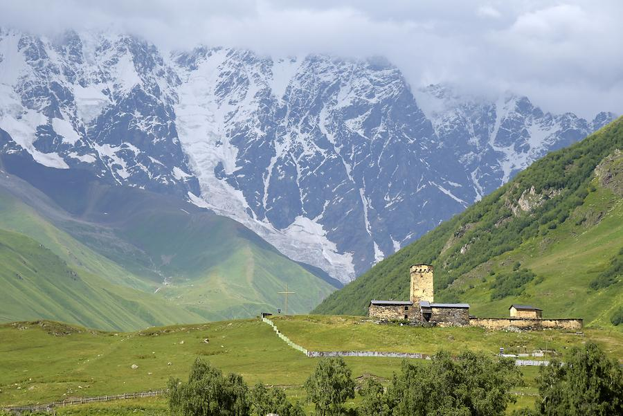 Ushguli Community - Lamaria Church