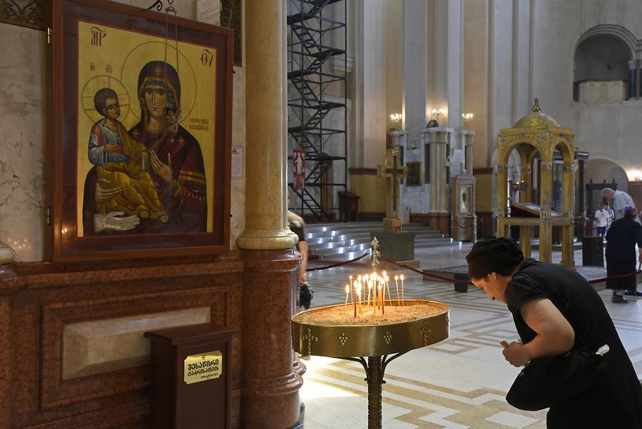 Holy Trinity Cathedral of Tbilisi - Icon
