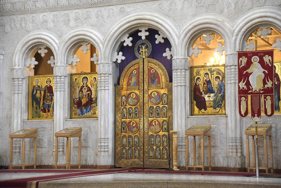 Holy Trinity Cathedral of Tbilisi - Iconostasis