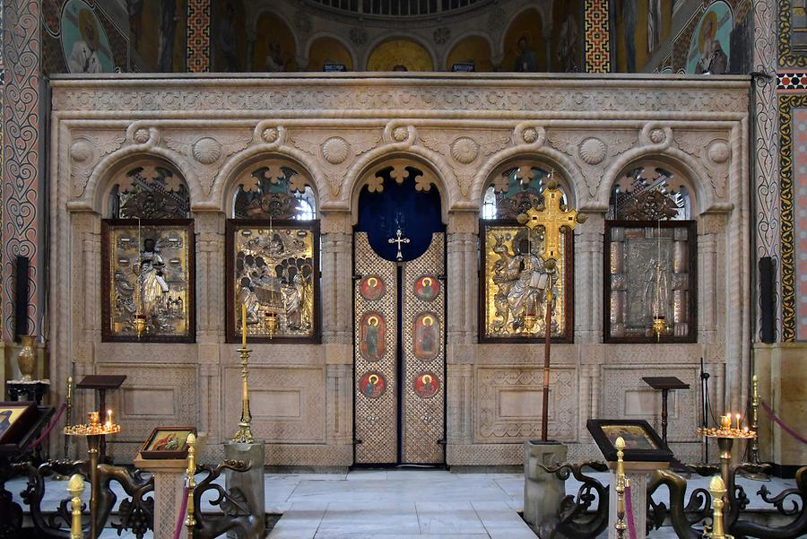 Sioni Cathedral - Iconostasis