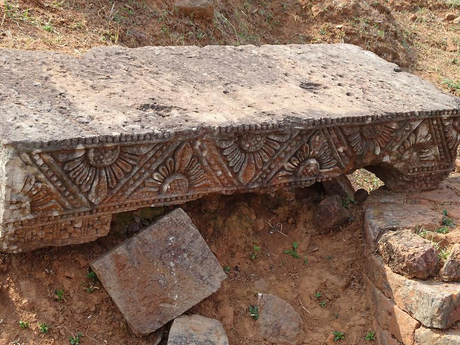 Udayagiri - Stone Carvings; Detail