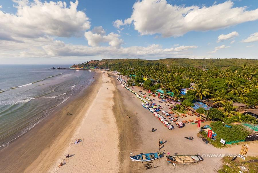 Harmal Beach. North Goa, India, © AirPano