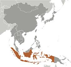 Indonesia in East And SouthEast Asia