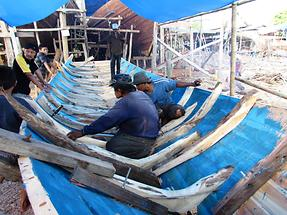 Building of Pinisi Boats (1)