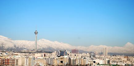 Damavand - view from Tehran (2)