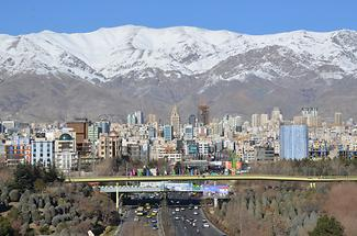 View of Tehran from Tabi