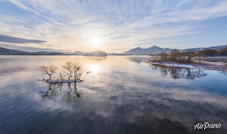 Lake Hibara, Japan, © AirPano