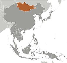 Mongolia in East And SouthEast Asia