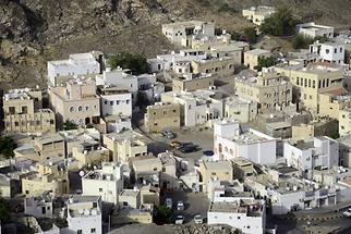 Old Part of Muscat - Cubic Houses