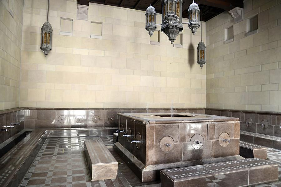 Sultan Qaboos Grand Mosque - Ablution Area