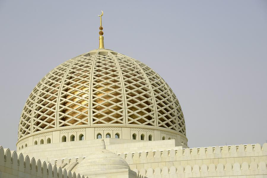 Sultan Qaboos Grand Mosque - Dome
