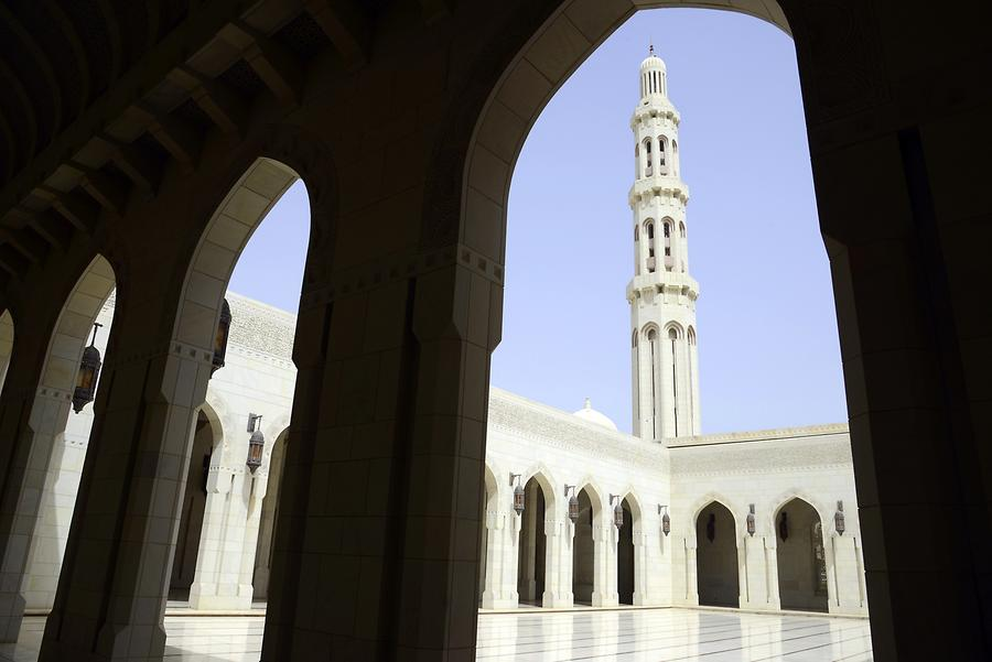 Sultan Qaboos Grand Mosque - Minaret