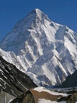K2 from the south, from Wikicommons