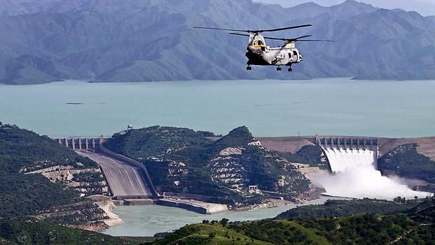 A beautiful view of Tarbela Dam, Photo: Paul Duncan, from Wikicommons