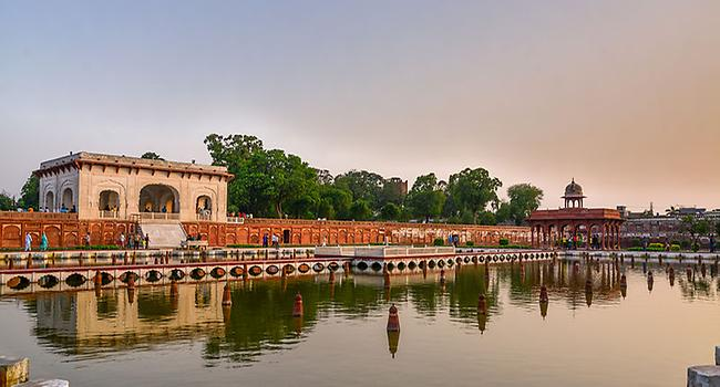 Marvelous view of the Shalimar Gardens, Photo: Muhammad Ashar, from Wikicommons