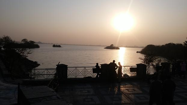 Rawal Lake at sunset, Photo: Haris Naeem, 2015